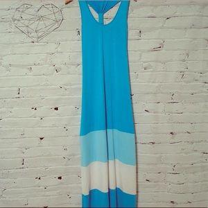 CALVIN KLEIN Tank  Maxi Stretch Dress  size 12